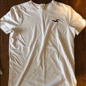 Hollister White Tshirt